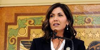 South Dakota Gov. Kristi Noem calls out ...