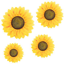Image Mason Jar 4pcs Removable Wall Decals 3d Sunflower Wall Sticker Wall Art Home Decor Sunflowers Wall Stickers Decal For Kids Baby Living Room Bedroom Wedding Party Amazoncom 4pcs Removable Wall Decals 3d Sunflower Wall Sticker Wall Art Home