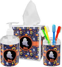 Halloween Bathroom Accessories Halloween Night Bathroom Accessories Set Personalized Potty