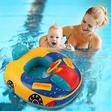 <b>Kids Swimming Ring</b> Yacht <b>Inflatable</b> Baby <b>Swim Pool</b> Toy <b>Seat</b> ...
