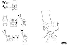 markus swivel chair assembling ikea chair