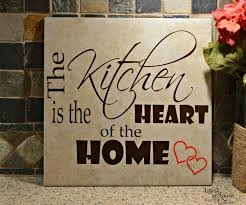 Gift For The Kitchen Mothers Gift The Kitchen Is The Heart Of The Home Mothers Gift