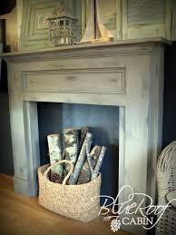 Decorative Faux Fireplace Mantel