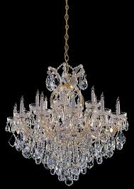gold crystal candle chandelier dd