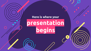 Abstract Spiral Free Presentation Template For Google