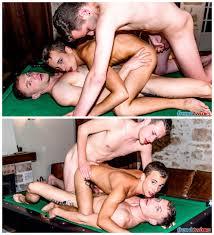 Double penetration three way