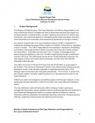 014 Project Proposal Template Pdf Printable Capital Examples