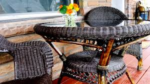 stunning wicker furniture painting ideas 10