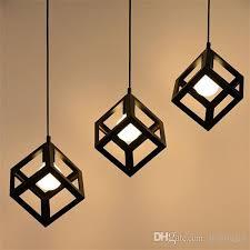 modern geometric 3 light pendant lamp