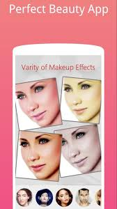 face makeup photo editor and selfie camera poster