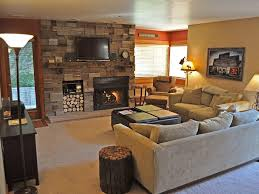 cozy living room with fireplace. Cozy Living Room With Tv Fireplace
