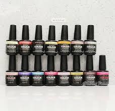 Artistic Nail Design Colour Gloss Set Of 15 Colors Gel