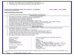 Nandakumar System Administrator Resume Youtube