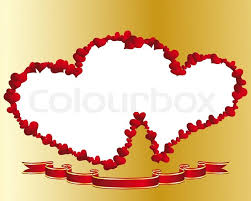 frame design.  Design St Valentine Day Vector Heart Frame For Design Use  Stock Vector  Colourbox Intended Frame Design T
