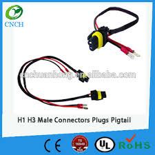 h1 h3 male connectors plugs pigtail bulb wire harness hid input h1 h3 male connectors plugs pigtail bulb wire harness hid input wires buy socket harness wire h1 h3 male connectors plugs pigtail wiring connector plug