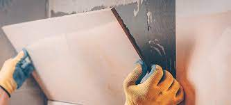 how to remove old tile adhesive