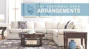 arranging your sectional sofa