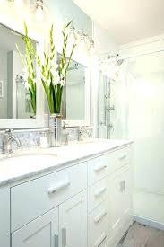white bathroom cabinets with granite. Amusing White Bathroom Cabinets With Dark Countertops . Granite
