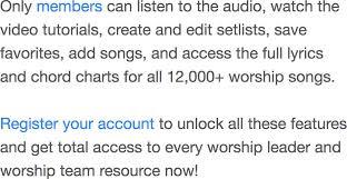 Here I Am To Worship Chords Tim Hughes Worship Chords