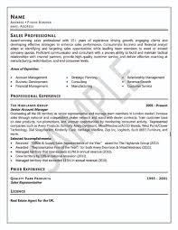 Sample Resume Writer Professional With Licence List And Work Group