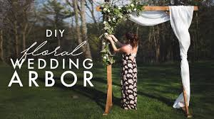 DIY WOODEN <b>ARCH</b> - PERFECT FOR WEDDINGS! - YouTube