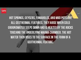 How Is A Thermal Feature Formed Youtube