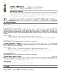 Fashion Designer CV Sample ...