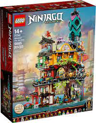 NINJAGO City Gardens (71741): all details