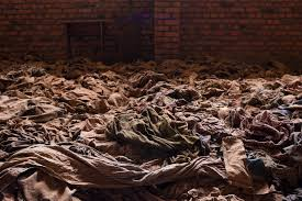 photos rwanda genocide th anniversary com the clothes of victims killed during the rwandan genocide laid out in the nyamata church in