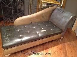 chalk paint on leather by piorra maison