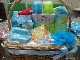 baby shower gift basket ideas for boy baby wall