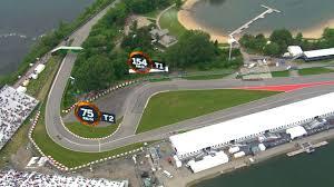 A Birds Eye View Of The Circuit Gilles Villeneuve Canadian Grand Prix 2016