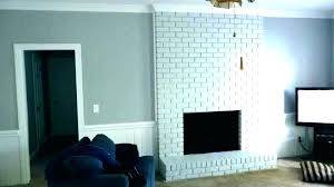 painted gray fireplace painted brick wall grey white brick fireplace wall gray painted brick fireplace white painted gray fireplace