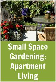 small space gardening apartment living