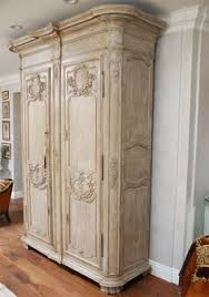 armoire furniture antique. For Sale On - Finely Carved Large Century French Armoire With Beautiful Ash Gray Painted Finish (not Original). Furniture Antique E