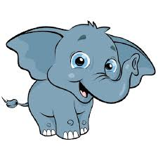 christmas elephant clip art. Simple Christmas Elephant Head Clipart At GetDrawingscom  Free For Personal Use  Banner Inside Christmas Clip Art T