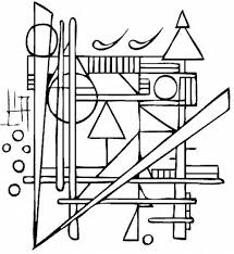 We have huge collection of coloring pages for kids here. Kandinsky Coloring Page Kids Can Add Color Online Free Printable Activity Kandinsky Coloring Famous Art Coloring Kandinsky Art