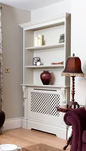 Bookcases Radiator Cabinets Radiator Covers With Bookcase With Bookcase  Radiator Cover (#1 of 15