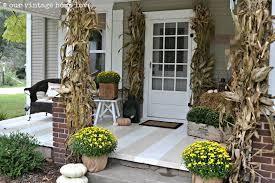Fall Porch Decorating Our Vintage Home Love Autumn Porch Ideas
