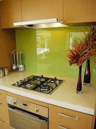 creative ideas diy kitchen backsplash with green wall
