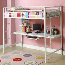 cool bunk beds with desk. Childrens Bunk Bed With Desk Twin Over Metal Loft Built In Cool Beds S