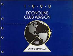 1999 ford econoline van club wagon wiring diagram manual original