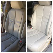 deep cleaning leather seats