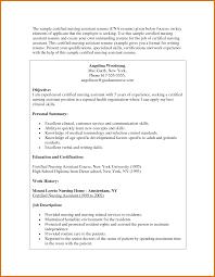 Example Nursing Resume