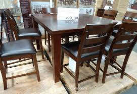 costco dining table image of dining table 9 piece costco dining table and 6 chairs