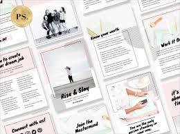 Ebook Template Canva Template Ebook By Pixistock Rise Slay