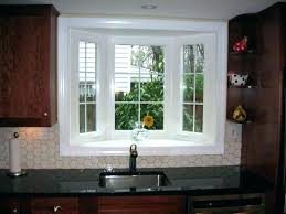 kitchen bay window over sink. Contemporary Window Kitchen Bay Window Decoration Over Sink Windows Plants  Small Above Plus With Luxury   In Kitchen Bay Window Over Sink T