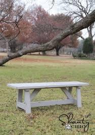15 outdoor bench