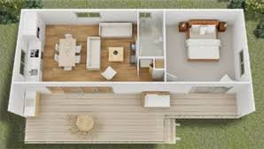 Small Picture GREEN PLANS TINY HOUSE floorplanstiny modern cottage home plan