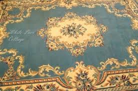 retro area rug french blue area rug